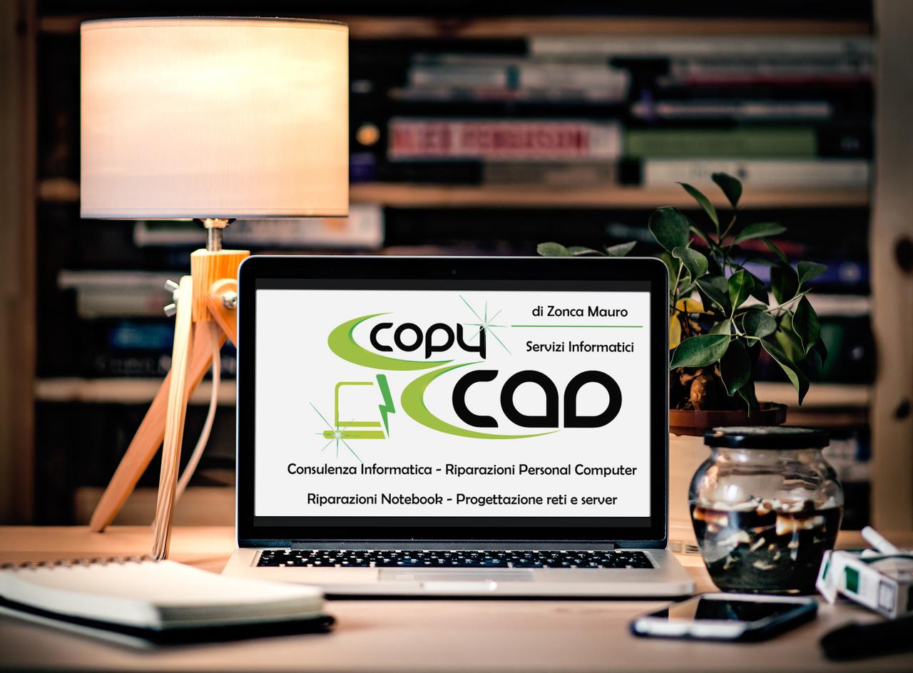 CopyCad sito in allestimento